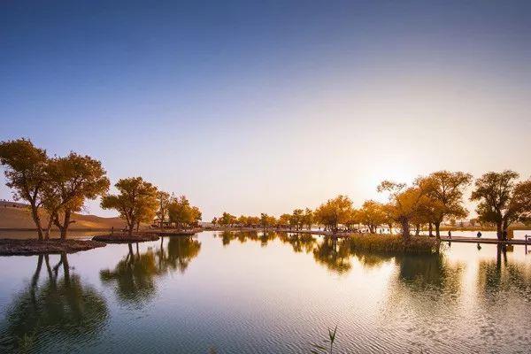 初冬时节,新疆沙漠公园让你嗨翻天!